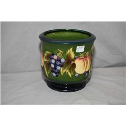 "Moorcroft jardiniŠre 7"" in height and 7"" in diameter"