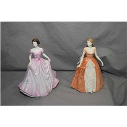 Two Royal Doulton figurines including Hope HN4097 and Summer's Dream HN4660