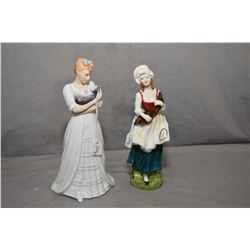 Two Royal Doulton figurines including Kimberly HN3379 and Lizzy HN2749