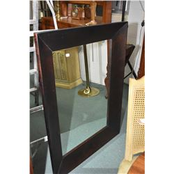 """Large framed wall mirror, overall dimensions 47"""" X 35"""""""