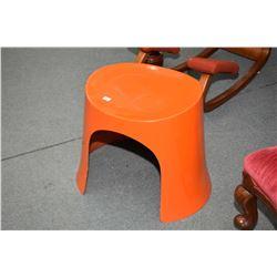 Genuine mid century fibreglass stool designed by Nanna Ditzel for Oddense Maskinsnedkeri and retaile