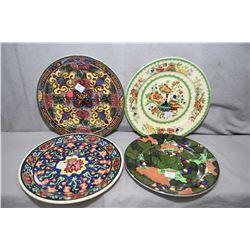Four Royal Doulton plates including D1902, D3087, D4518 and one sans number
