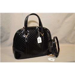 Gucci Nice Micro Guccissima hand bag with detachable shoulder strap
