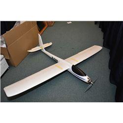 Three Styrofoam model airplanes