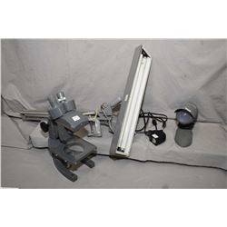 Bausch and Lomb dissecting microscope, Bausch and Lomb laboratory lamp, AO Instruments laboratory la