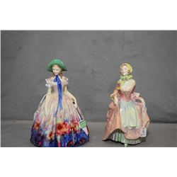 Two Royal Doulton figurines including Suzette HN1026 and Easter Day HN2039