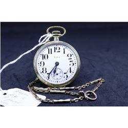 "Elgin size ""16"", 7 jewel, grade 291, model 7 pocket watch. Serial # 29278460, dates to 1927. 3/4 nic"