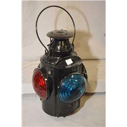 CNR rail signal lantern, appears brand new