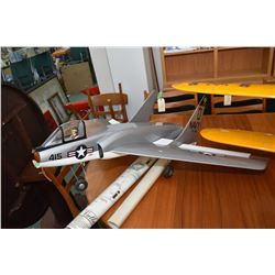 Global Quality kits Cutlass 45 flying model kits, no engine, does not appear to have been flown
