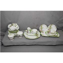 """Selection of Royal Albert """"Greenwood Tree"""" china including six side plates, four small tea cups and"""