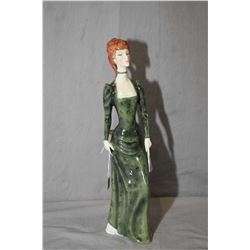 "Royal Doulton figurine A La Mode HN2544, 13"" in height"