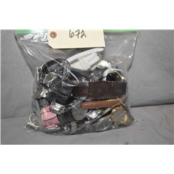 Bag of vintage and collectible watches