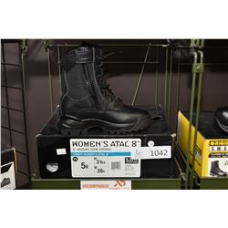 "Brand new 5.11 Woman's Attack 8"" boot size 5 R"