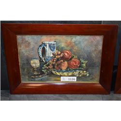 Two antique framed watercolours signed by artist Ethel Miers, June 29 '05 (1905)