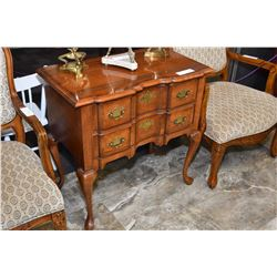 Quality 2 drawer console table made by Pennsylvania House