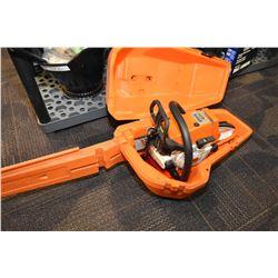 Stihl 026 chainsaw in storage/carry case