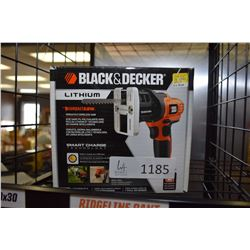 New in box Black & Decker lithium powered compact saw