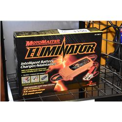 New in box Motomaster Eliminator Intelligent battery charger/maintainer