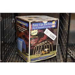 New in box Easy-Up Enclosures do it yourself framing system