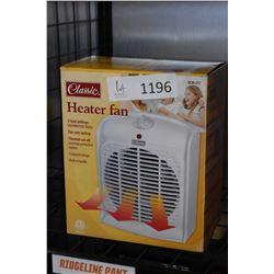 New in box Classic three position heater fan