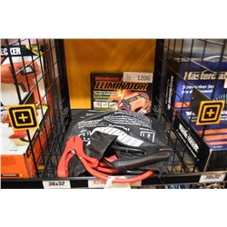 New in box Motomaster Eliminator Intelligent battery charger/maintainer and booster cables