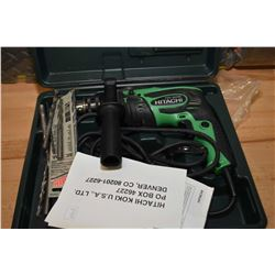 Hitachi FDV 16VB2 power drill with hammer drill function