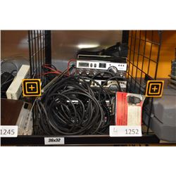 Two Realistic in car CB radios and a Realistic Pro-2001 base station