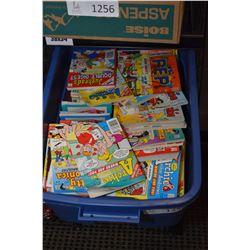 Tub of comic box including Archie etc.