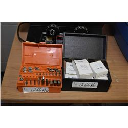Selection of shaper and router bits