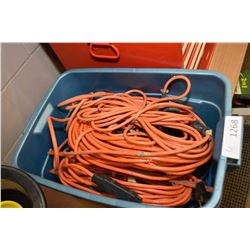 Selection of extension cords