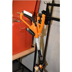 Worx brand battery powered edge trimmer, appears new, but not tested