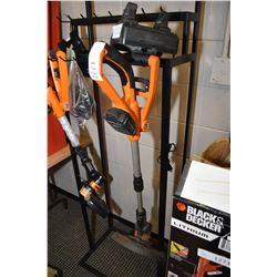 Worx brand battery powered edge trimmer, appears to be working fine