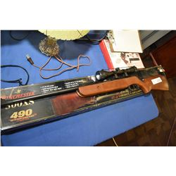 New in box Winchester 500XS 490 .177 cal air gun with scope, no PAL required, use with care