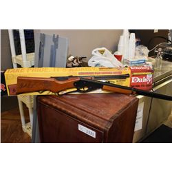 Red Rider Carbine bb gun with box, has some storage rust