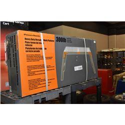 New in box Powersonic 300 lbs, heavy duty work platform