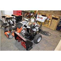 Near new Briggs & Stratton 1150/27 dual stage snow blower with electric start