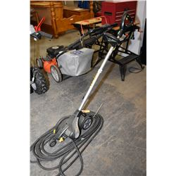 Yardworks electric edger & heavy duty extension cord