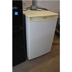 Small white Danby bar fridge