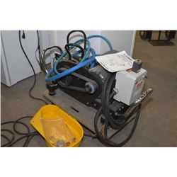 Industrial 220 volt Landa pressure washer, untested at time of cataloguing, appears to have low mile
