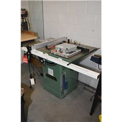 General 50-200 R 220 volt commercial table saw with extra blades including Dado