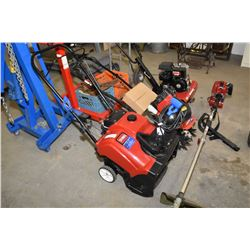 Toro Powerclear 518 ZE single stage snow blower with electric start