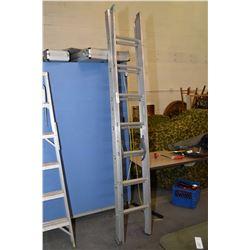 Aluminium extension ladder