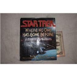 ZZ-CLEARANCE STAR TREK WERE NO ONE HAS GONE BEFORE BOOK