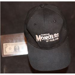 ZZ-CLEARANCE FAMOUS MONSTERS VINTAGE HAT