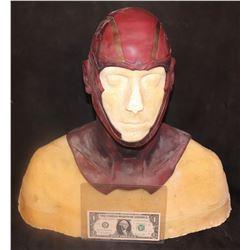 SUPERGIRL RED TORNADO SCREEN USED HERO HEAD APPLIANCE 1