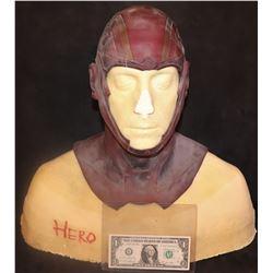 SUPERGIRL RED TORNADO SCREEN USED HERO HEAD APPLIANCE 2
