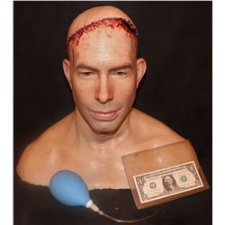 THE KNICK SILICONE BRAIN SURGERY HEAD WITH BLADDER IN BRAIN KEEPER QUALITY GORE!