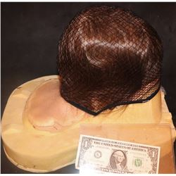 STRANGER THINGS SILICONE SKULL CAP WITH WIG UNUSED