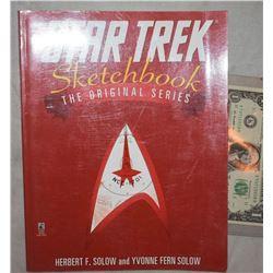 ZZ-CLEARANCE STAR TREK THE ORIGINAL SERIES SKETCH BOOK