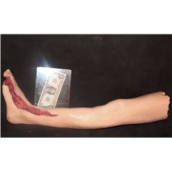THE KNICK UNFINISHED SILICONE LEG